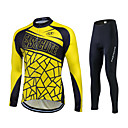 Fastcute® Biciklistička majica s tajicama Žene / Muškarci / Uniseks Dugi rukav BiciklProzračnost / Quick dry / Moisture Permeability /