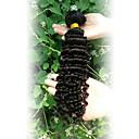 人間の髪編む ブラジリアンヘア ウェーブ 12ヶ月 1個 ヘア織り