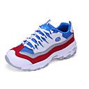 Žene Sneakers Proljeće / Jesen Zaobljene cipele Til Atletika / Ležerne prilike Ravna potpetica Vezanje Plava / Siva / Crno-bijeli Hodanje