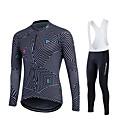 Fastcute® Biciklistička majica s tregericama Žene / Muškarci / Uniseks Dugi rukav BiciklProzračnost / Quick dry / Moisture Permeability /