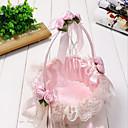Nový manuál CANY bambus tkaní svatební družička Svatební květinový dívka košíkem basket přenosné lístků