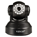 wanscam® PTZ IP kamera Den Noc Wi-Fi Protected Setup Motion Detection p2p bezdrátové