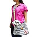 modni crvena / plava pruga dizajn torba remen ruksak za kućne ljubimce pse i mačke