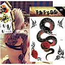 5 Tetovaže naljepnice Animal Serija / Flower Serija / Totem Series / OthersBeba / Dijete / Žene / Muškarci / Boy Flash TattooPrivremene