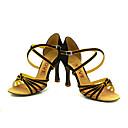 Može se prilagoditi - Ženske - Plesne cipele - Latin / Balska sala - Satin Crn
