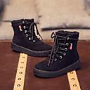 Za dječake Čizme Zima Ostalo Udobne cipele Umjetna koža Ležeran Patent-zatvarač Crna Kaki