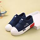 Za dječake Sneakers Proljeće Jesen Ostalo Udobne cipele Platno Ležeran Ravna potpetica Mat selotejp Crna Plava Bijela Boja vina