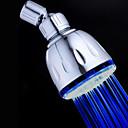 Současné Dešťová sprcha Pochromovaný vlastnost for  LED / Déšť / Šetrný vůči životnímu prostředí , Sprchová hlavice