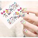 1ks vodní přenos nail art samolepky krásná dívka a lady obraz nail art designu stz176-180