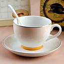 Minimalisme Soirée Articles pour boire, 280 ml Motif géométrique simple Décoration Céramique Thé Café Verres & Tasses Pour Usage Quotidien