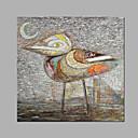 Ručně malované Zvíře umělecké Jeden panel Plátno Hang-malované olejomalba For Home dekorace