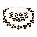 Žene Komplet nakita Ogrlica / narukvica Svadbeni nakit Setovi Umjetno drago kamenje Moda Vintage Euramerican Simple Style KlasikaSmola