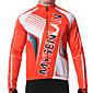 MYSENLAN® Biciklistička jakna Muškarci Dugi rukav Bicikl Ugrijati / Vjetronepropusnost / Podstava od flisa / Podesan za nošenjeJakna /