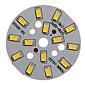 7W 600-650LM Warm White Light 5730SMD Integrirani LED modula (21-24V)