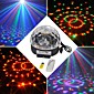 18 w RGB LED mp3 etapa dj disco club pub strana křišťálová koule magic light eu (ac100-240v)