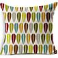 brightcolor geometrické bavlna / len dekorativní polštář kryt