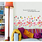 zidne naljepnice zidne naljepnice, tipa cvijet PVC zidne naljepnice