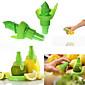 2pcs kreativni sok od limuna sokovnik sprej magla narančasto voće gadge prskalica kuhinja (slučajni boja)) 21 * 10 * 2 cm