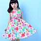 Djevojka je Ljeto / ProljećeCvjetni print-Pamuk-Ljeto / Proljeće-Više boja