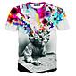 Elasthaan - Print - Heren - T-shirt - Informeel/Grote maten - Korte mouw