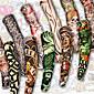 1 タトゥーステッカー その他 Non Toxic / パターン / Waterproof Tattoos Sleeves Arm Stockingsfor女性 / 男性 / 大人 / 青少年 フラッシュタトゥー 一時的な入れ墨