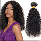 """heißer Verkauf 8 """"24"""" brasilianisches reines Haar tiefes lockiges, Farbe natur schwarz 1b, webt rohen menschlichen Haares."""