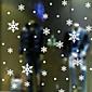 samolepky na zeď lepicí obrazy na stěnu ve stylu Vánoční vločka z PVC samolepky na zeď