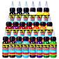 solong tetovací barvy 21 barev nastavit 1oz 30ml / láhev tetovací pigment kit