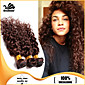 3pcs Brazilski paketi za kosu isprepliće čokoladno smeđe duboko rotor kose potke 100% neprerađenog Brazilski ljudske kose potke