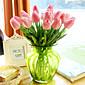 PU / Nekretnine dodir Tulips Umjetna Cvijeće