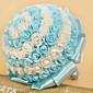 """Cvijeće za vjenčanje Krug Roses Buketi Vjenčanje Saten Elastična Satin Umjetno drago kamenje 8.27 """"(Approx.21cm)"""
