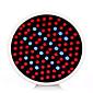 morsen®12w E27 červená + modrá LED rostlina roste světlo lampy ac85 ~ 265V vedl hydroponie Výbojky květin a rostlin