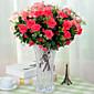 11 Forks High Quality Azalea Flowers Silk Flower Silk Flower Artificial Flowers for Home Decoration 1pc/set