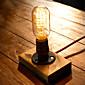 Edison žarulja berba stolne svjetiljke personalizirane cjevovoda noćno svjetlo stolna svjetiljka E27 110V-220V -fj-dt2x2-039b0