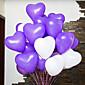 12 inča vjenčanje dekor u obliku srca balon 200pcs / set