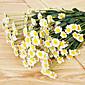 絹のヒナギク造花結婚式の花の多色オプション1個/セット