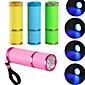 Mini dovelo UV lampa profesionalna LED svjetiljka gel za nokte noktiju kosu LED bljeskalicu 10s brz lijek za nokte gel