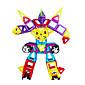 子供の幼児教育玩具、磁気ブロック、これまで磁気スライスとリフトブロック、スーツ-118枚