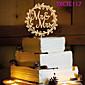 Figure za torte Non-personalizirane Jastuk Smola Vjenčanje Bijela Butterfly Theme 1 OPP