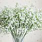 1 1 ブランチ ポリエステル / プラスチック かすみ草 テーブルトップフラワー 人工花 18.8inch/48cm