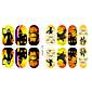 14Pcs/Sheet Nail Art naljepnica 3D Nail Naljepnice Crtani film / Lijep šminka Kozmetički Nail art dizajn