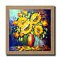 手描きの 抽象画 / 静物画 / ファンタジー / 花柄/植物の / 抽象的な風景画 油彩画,Modern / リアリズム 1枚 キャンバス ハング塗装油絵 For ホームデコレーション