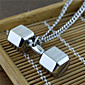 Náhrdelníky Náhrdelníky s přívěšky Šperky Párty / Denní / Ležérní Visací Titanová ocel Muži 1ks Dárek Stříbrná
