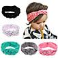 5 kom / set djeca turban headbands s polka dot tiskani dijete kosu