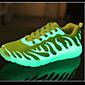 Uniseks Sneakers Proljeće Ljeto Jesen Zima Udobne cipele PU Aktivnosti u prirodi Ležeran Atletika Niska potpetica Vezanje Crna Žuta