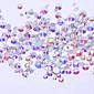 500 ネイルアートデコレーション ラインストーンパール メイクアップ化粧品 ネイルアートデザイン
