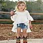 Djevojčice Pamuk Jednobojni Ležerno/za svaki dan Ljeto Kratkih rukava Setovi Komplet odjeće