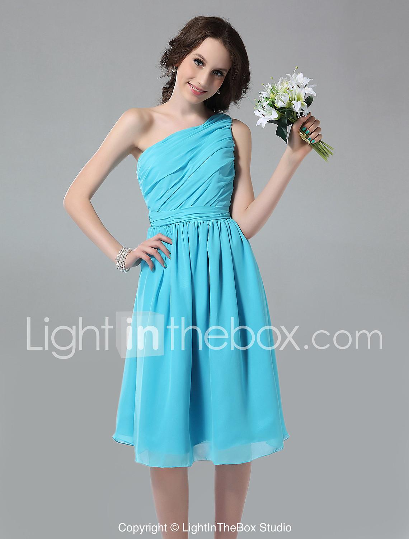 Tiffany vestidos de dama de honor azul